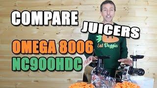 Hurom Juicer Vs Omega 8006 : Omega NC800 vs Solostar 3 Juicer Review Comparison vidsfitness.com
