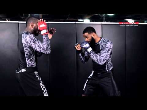 UFC Tyron Woodley Takedown Combination | Evolve University
