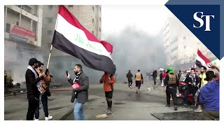 Four killed after Iraqi security forces raid protest camps