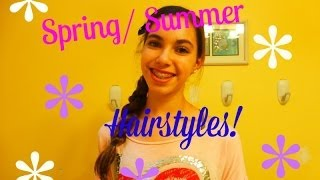 4 Spring/Summer Hairstyles | collab w/ makeupbyangie | delsbeautygalore Thumbnail