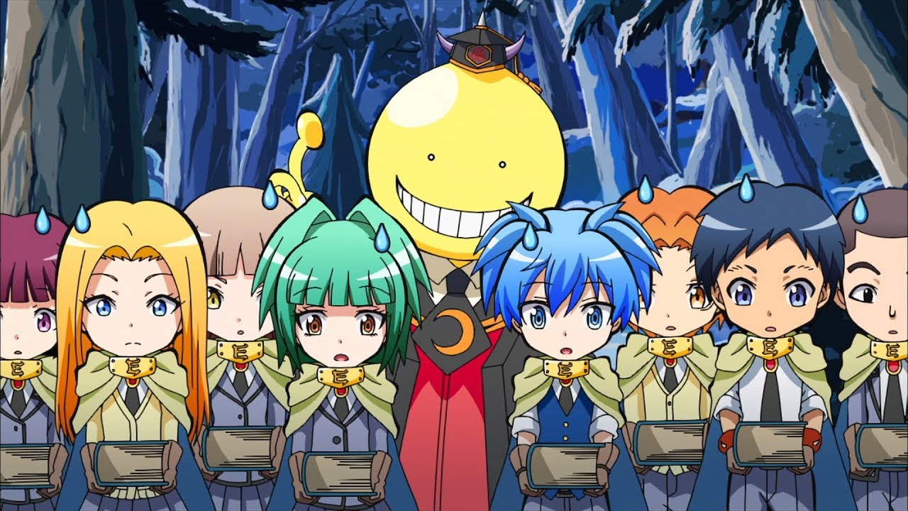 Koro Sensei Quest! - Clip #02 (dt.) - YouTube