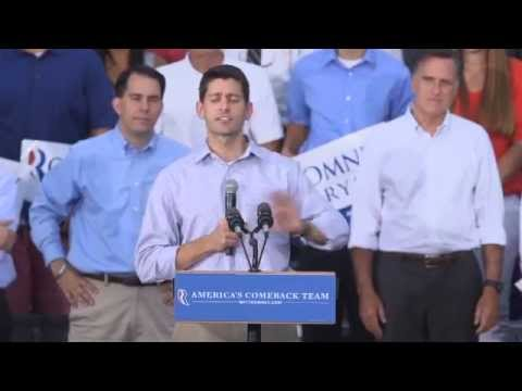 Romney-Ryan homecoming rally