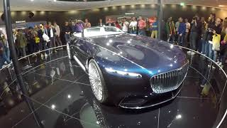 Франкфурт 2017 Maybach G650 S560 6 Concept  Mercedes-Benz Concept EQ