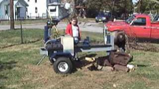 Diy Build Your Own .. Log Splitter .. 24 Ton Log Splitter Plans
