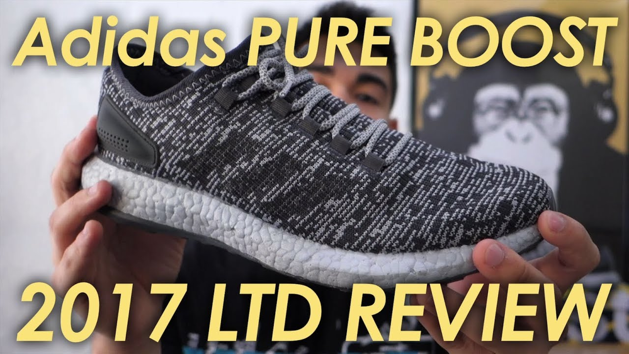 a167dd5ad How did Adidas update the Pure Boost model  Adidas Pureboost 2017 shoe  review 👟