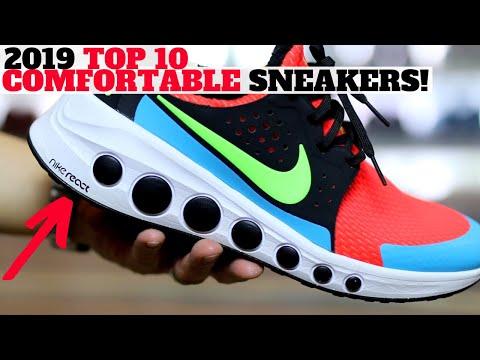 comfiest sneakers
