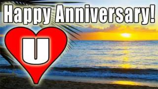HAPPY ANNIVERSARY E-Card Video FREE PACHELBEL