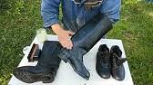 Сапоги кирзовые почистил(Boots brushed my) - YouTube