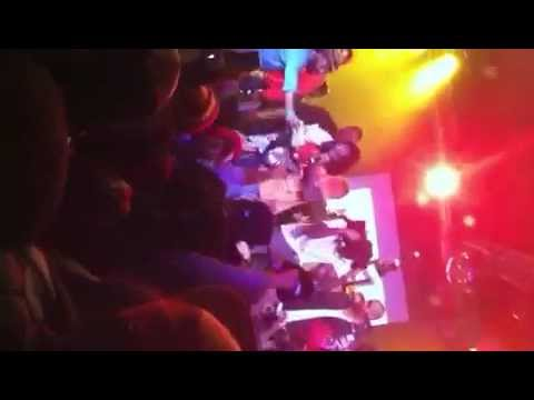 Wale and Meek Millz performing live