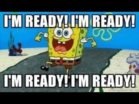 Voice Impression Spongebob Squarepants Im Ready Laugh Youtube