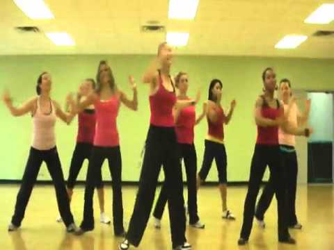 Zumba - Let the Music Play, Jordan Sparks warm up song