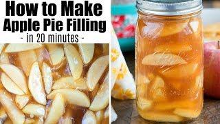 Homemade Instant Pot Apple Pie Filling