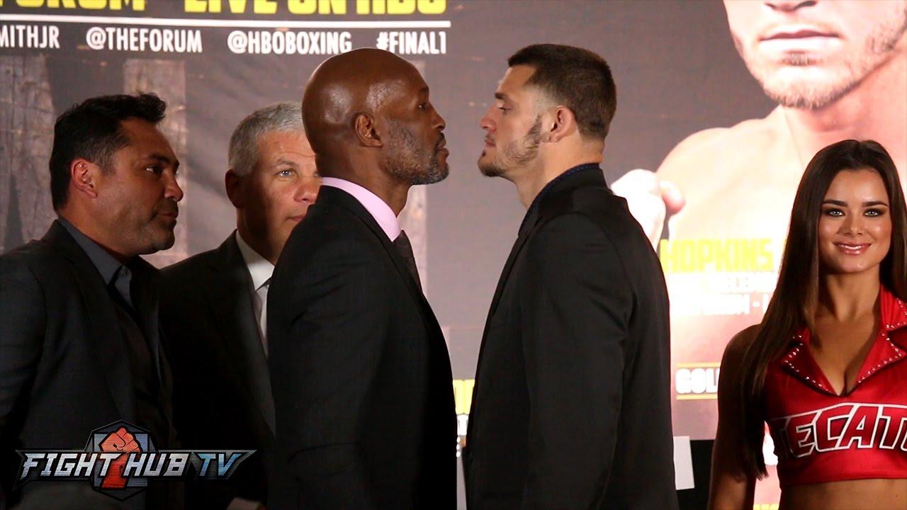 Bernard Hopkins vs Joe Smith Jr Full Face f Video Los Angeles