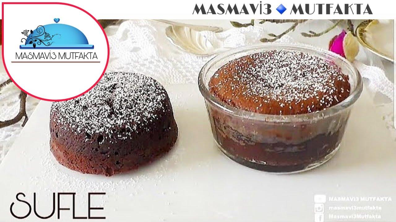 Evde Sufle Nasıl Yapılır? - Çikolatalı Sufle Tarifi - İdil Yazar - Chocolate Souffle
