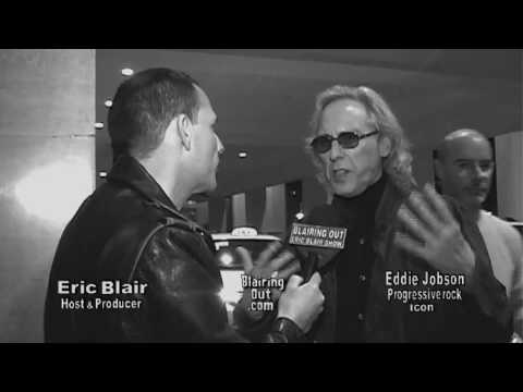EDDIE JOBSON talks with Eric Blair at Namm 2010