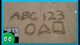 Sand Collection - Learn the ABC