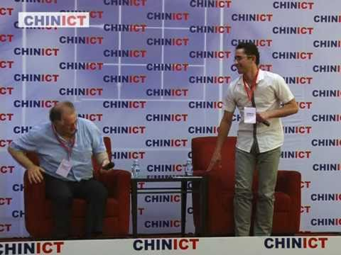 Exmart founder speaks at CHINICT.