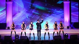 Ca Sỹ Lâm Hùng hát đêm chung kết hoa hậu Nam Vương tại Hàn Quốc