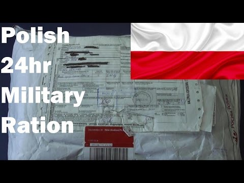 MRE Review - Polish 24hr Military Field Ration