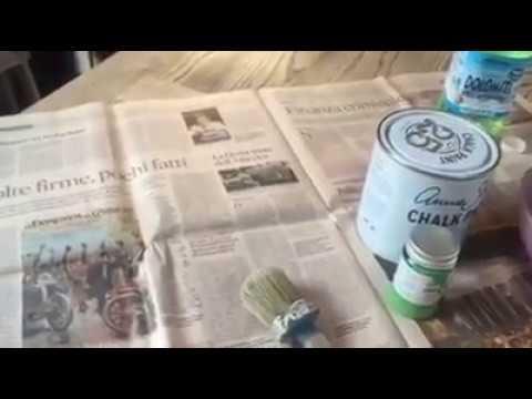 Restaurare Un Mobile In Stile Shabby.Come Iniziaire A Dipingere Un Mobile The Original Shabby