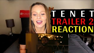 Tenet Trailer # 2 Reaction!!!!