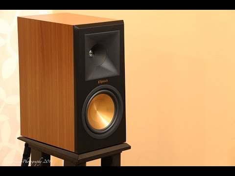 klipsch bookshelf speakers. klipsch rp160m bookshelf speakers sound demo (rock)
