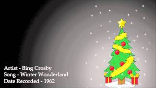 Bing Crosby - Winter Wonderland
