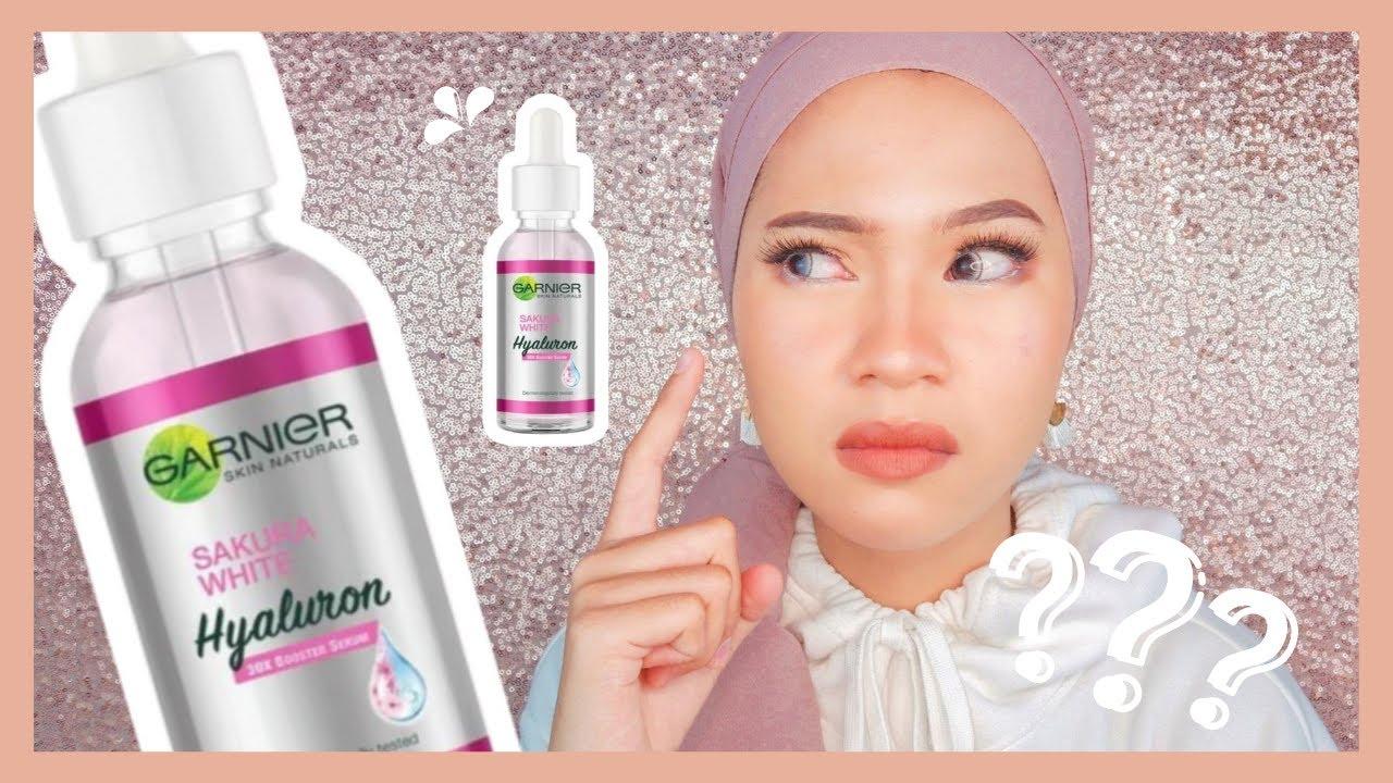 Review Garnier Sakura White Serum Untuk Kulit Berjerawat