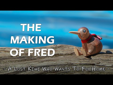 How To Carve Fred The Kiwi - Woodcarving Timelapse