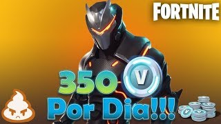 350 vbucks per day! What is MISSION ALERT? Vbucks without playing at Fortnite save the World