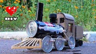 How to make Steam Locomotive - Awesome DIY