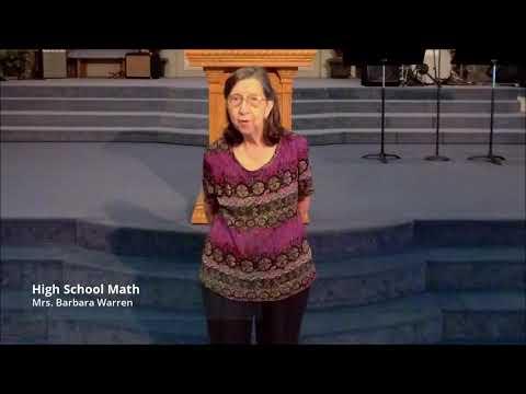 Oldsmar Christian School Parent Orientation 2020-2021