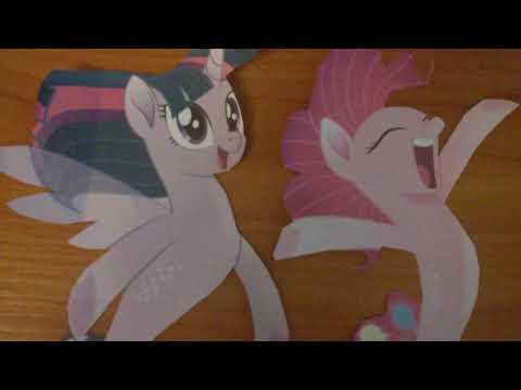 Princess Twilight Sparkle and Pinkie Pie are Sea Ponies