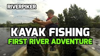 Kayak fishing - First River Adventure ( video 99)(I took my kayak out on the river for the first time. With just the ultra light rod and a few lures I went for a paddle to see what I could find and to see how I would ..., 2015-07-11T16:14:42.000Z)