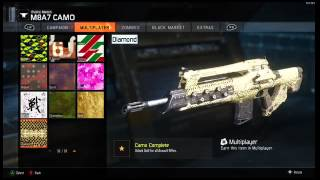 Use GOLD/DIAMOND/DARK MATTER In Custom Games! BO3