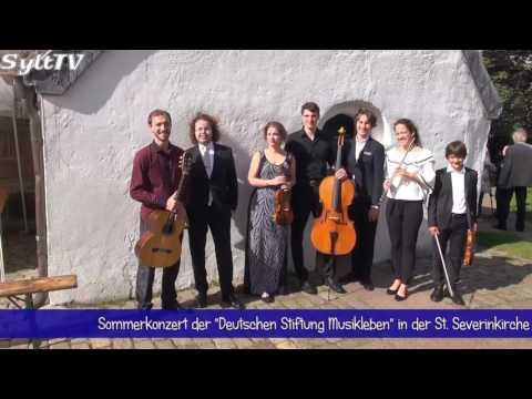 """Sommerkonzert der """"Deutschen Stiftung Musikleben"""" in Keitum"""