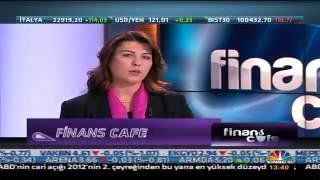 Evrim Aras, Finans Cafe programına konuk oldu!