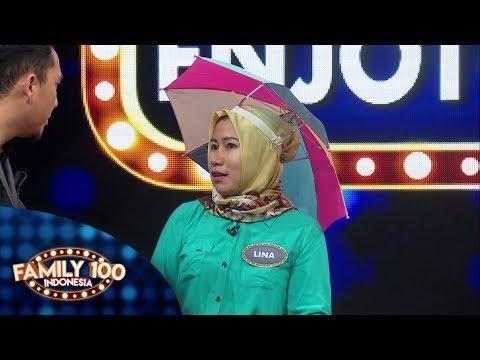 Apakah pilihan jawaban dari Ibu Lina ada termasuk survey? - Family 100 Indonesia