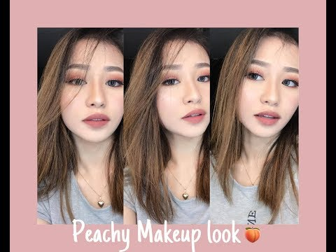 Peachy Makeup Look | Princess Aiko