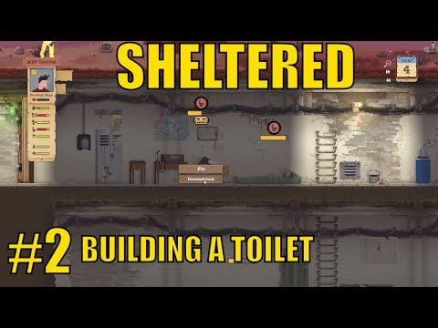 sheltered-1.6---building-a-toilet---let's-play-sheltered-gameplay