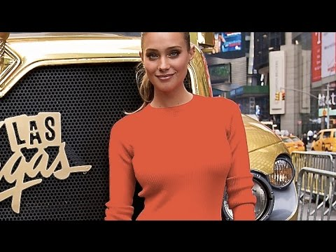 Hannah Davis Sexy Ice Cream Truck Commercial Sexy Las Vegas Hannah Davis Interview CARJAM TV HD 2015