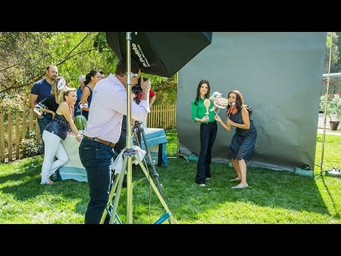 How To  Mark Steines' DIY Photo Booth  Hallmark Channel
