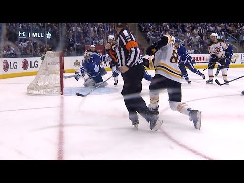 Frederik Andersen's ridiculous stick save
