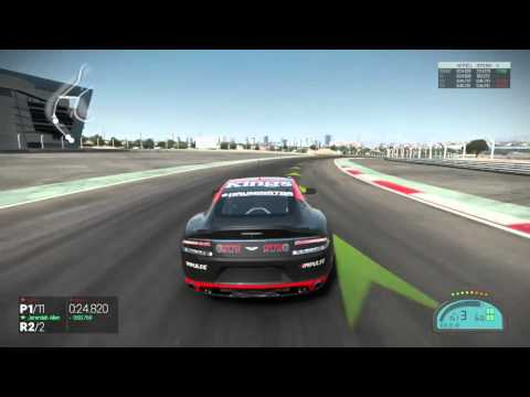 Project Cars Patch 9 0 Aston Martin Rapide S Hydrogen Hybrid @ Dubai Autodrome GP, Xbox One, PS4, PC