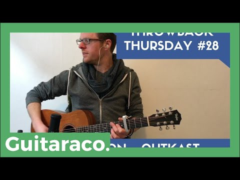 MS JACKSON - OUTKAST - TBT #28 // EASY Guitar Tutorial (Open Chords C D Em)