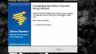 como descargar driver checker