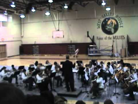 West Valley Middle School Orchestra Concert (Full Edition)
