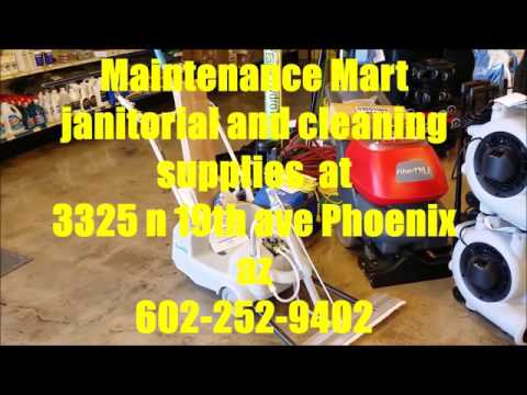 Maintenance Mart/janitorial/cleaning Supplies