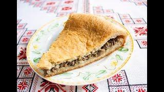 Пісний пиріг з грибами❤️Постный пирог с грибами