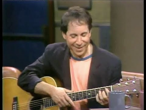 Paul Simon on Late Night, May 20, 1982